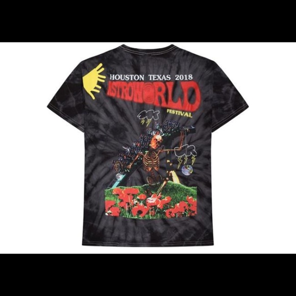 2161178b2ece Shirts | Astroworld Festival Tie Dye Shirt Travis Scott | Poshmark